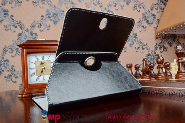 Чехол с вырезом под камеру для планшета BQ 8006G роторный оборотный поворотный. цвет в ассортименте