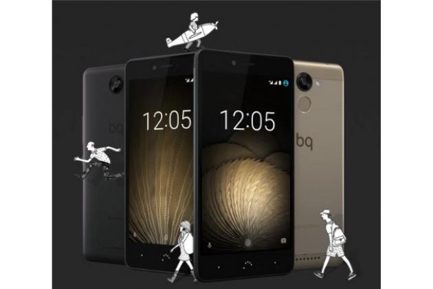 Фирменная оригинальная защитная пленка для телефона BQ Aquaris U Lite матовая