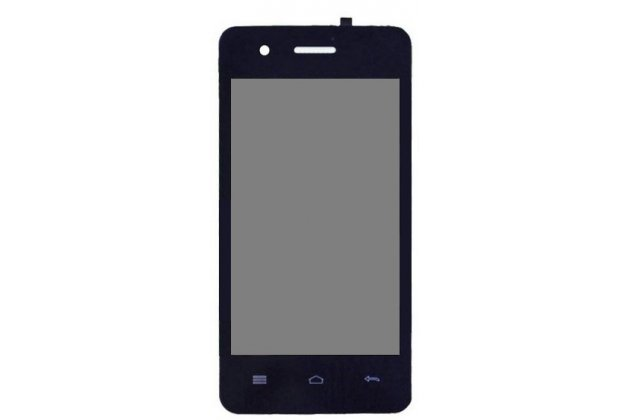 Фирменный LCD-ЖК-сенсорный дисплей-экран-стекло с тачскрином на телефон Explay Onyx черный + гарантия