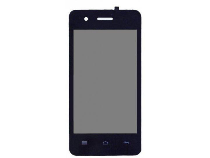 Фирменный LCD-ЖК-сенсорный дисплей-экран-стекло с тачскрином на телефон Explay Onyx черный + гарантия..