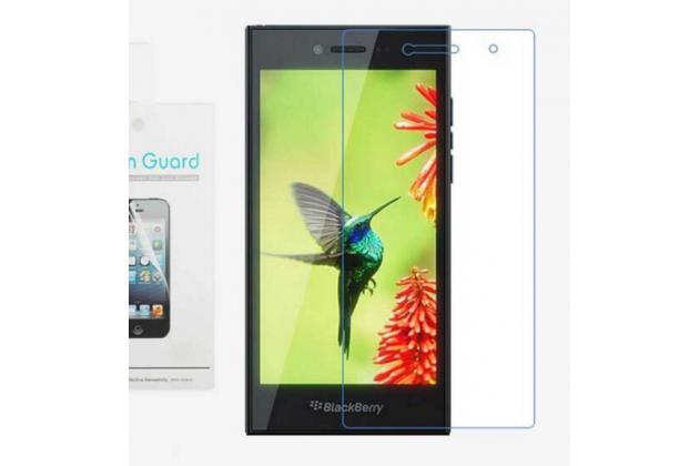 Фирменная оригинальная защитная пленка для телефона Blackberry Leap Z20 глянцевая