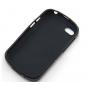 Фирменная ультра-тонкая полимерная из мягкого качественного силикона задняя панель-чехол-накладка для  Blackbe..