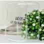 Фирменная задняя панель-крышка-накладка из тончайшего и прочного пластика для Blackberry Q10 прозрачная..