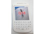 Фирменный оригинальный силиконовый  чехол-пенал для Blackberry Q10 с 3D клавиатурой и защитой кнопок от пыли и..