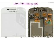 Фирменный LCD-ЖК-сенсорный дисплей-экран-стекло с тачскрином на телефон BlackBerry Q10 Classic белый + гаранти..