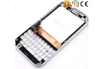 Фирменный LCD-ЖК-сенсорный дисплей-экран-стекло с тачскрином, передней панелью и клавиатурой на телефон Blackberry Q5 белый + гарантия