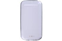 Фирменная ультра-тонкая полимерная из мягкого качественного силикона задняя панель-чехол-накладка для BlackBerry Q20 Classic белая