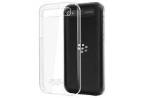 Фирменная задняя панель-крышка-накладка из тончайшего и прочного пластика для BlackBerry Q20 Classic прозрачная