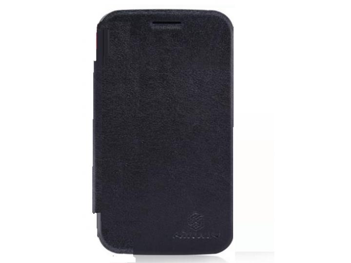 Фирменный умный тонкий чехол Smart-case/Smart-cover c функцией засыпания для BlackBerry Q20 Classic черный пла..
