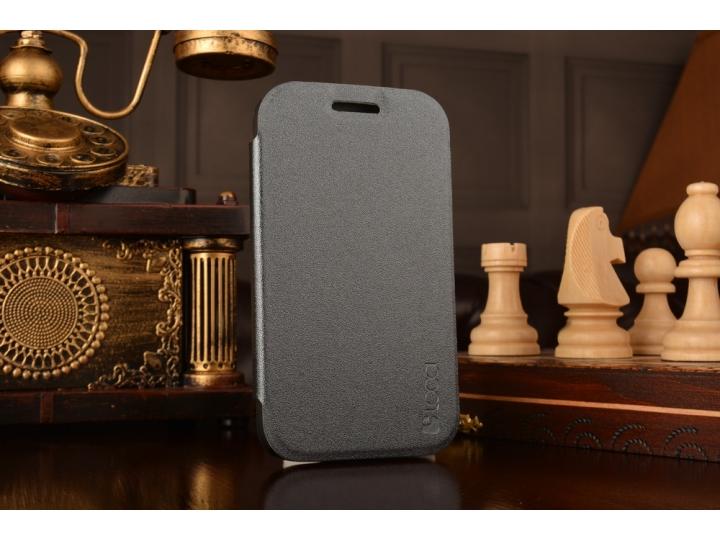 Фирменный тонкий водоотталкивающий  для BlackBerry Q20 Classic черный пластиковый..