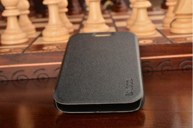 Фирменный тонкий водоотталкивающий  для BlackBerry Q20 Classic черный пластиковый