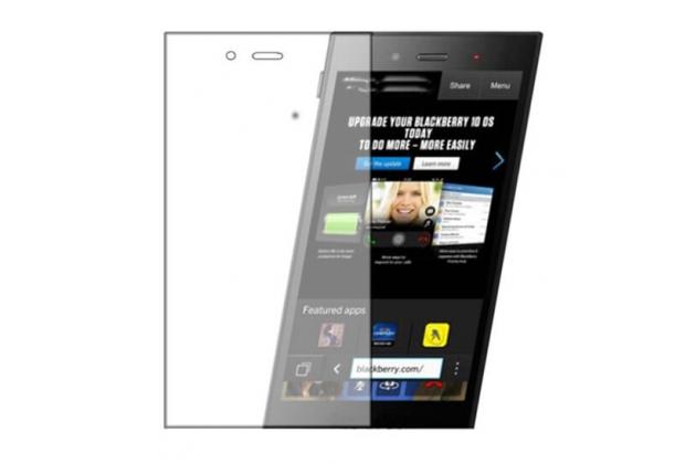 "Фирменная оригинальная защитная пленка для телефона Blackberry Z3 5.0"" глянцевая"