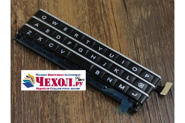 Фирменная оригинальная клавиатура для замены родной на Blackberry Passport Q30 (английский язык) черная