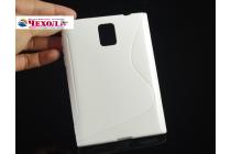 Фирменная ультра-тонкая полимерная из мягкого качественного силикона задняя панель-чехол-накладка для Blackberry Passport Q30 белая