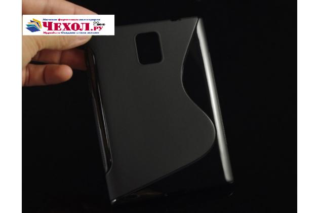 Фирменная ультра-тонкая полимерная из мягкого качественного силикона задняя панель-чехол-накладка для Blackberry Passport Q30 черный