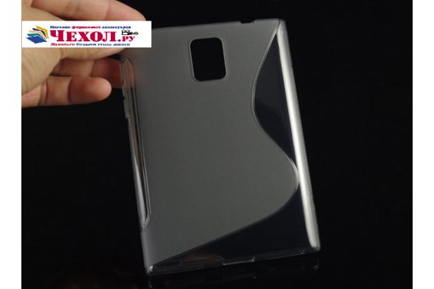 Фирменная ультра-тонкая полимерная из мягкого качественного силикона задняя панель-чехол-накладка для Blackberry Passport Q30 серая