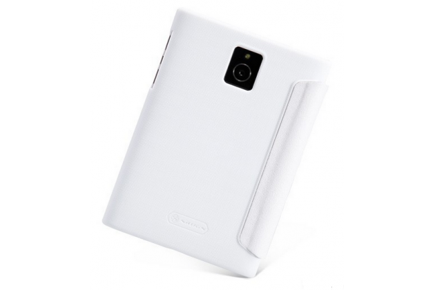 Фирменный умный тонкий чехол Smart-case/Smart-cover c функцией засыпания для Blackberry Passport Q30 белый пластиковый