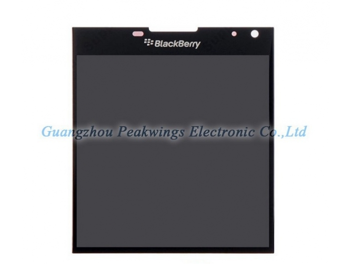 Фирменный LCD-ЖК-сенсорный дисплей-экран-стекло с тачскрином на телефон Blackberry Passport Q30 черный + гаран..