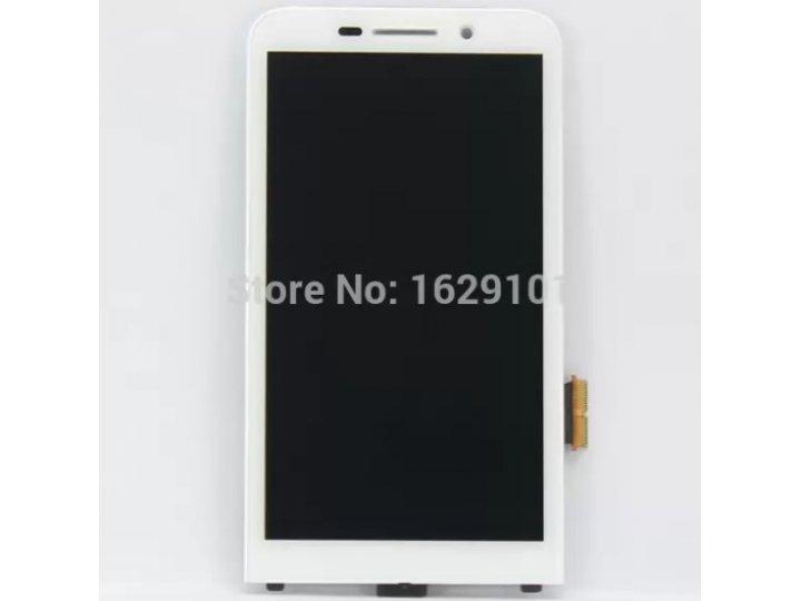 Фирменный LCD-ЖК-сенсорный дисплей-экран-стекло с тачскрином на телефон Blackberry Z30 белый + гарантия..