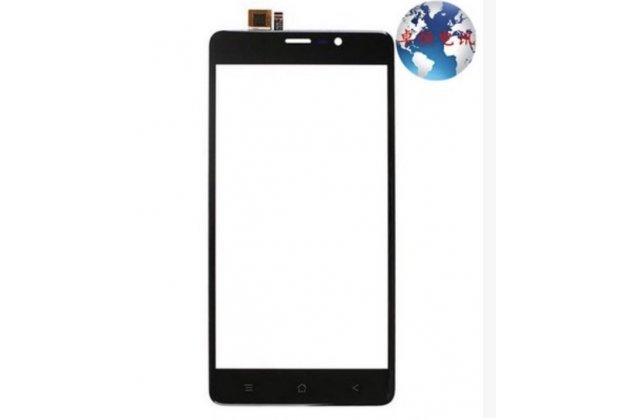 Фирменное сенсорное стекло-тачскрин на  Blackview A8 Max черный и инструменты для вскрытия + гарантия