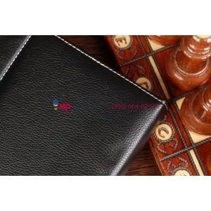 Чехол-обложка для Bliss Pad B9712KB черный кожаный