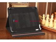 Чехол-обложка для  черный кожаный Bliss Pad R9735..