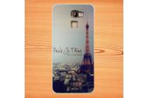 """Фирменная задняя панель-чехол-накладка из 3D силикона с объёмным рисунком для Bluboo Xfire2 5.0"""" """"тематика Париж"""""""