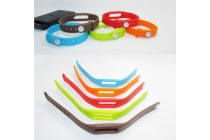 Фирменный сменный цветной ремешок для спортивного браслета Xiaomi Mi Band. Цвет в ассортименте
