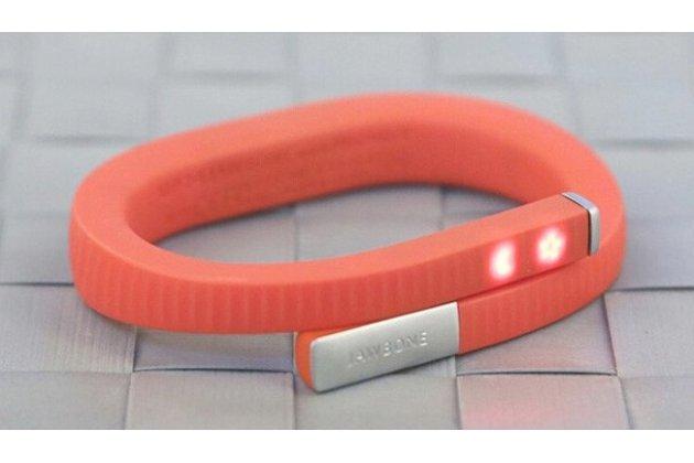 Фирменный оригинальный спортивный умный смарт-фитнес браслет Jawbone UP24 оранжевый размеры S/M/L