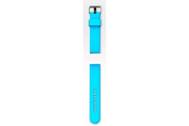 Фирменный сменный силиконовый ремешок для умных смарт-часов COOKOO Watch разноцветный