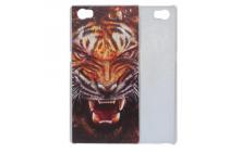 """Фирменная роскошная задняя панель-чехол-накладка с безумно красивым рисунком тигра на CUBOT X11"""""""