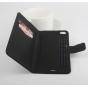Фирменный чехол-книжка из качественной импортной кожи с мульти-подставкой застёжкой и визитницей для Кубот Пэ9..