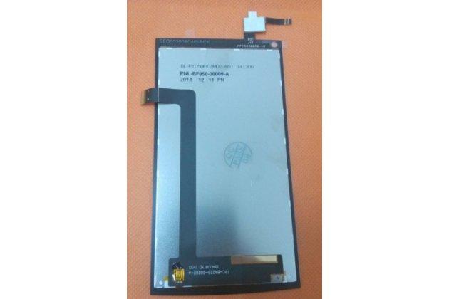 Фирменный LCD-ЖК-сенсорный дисплей-экран-стекло с тачскрином на телефон Cubot X6 черный + гарантия