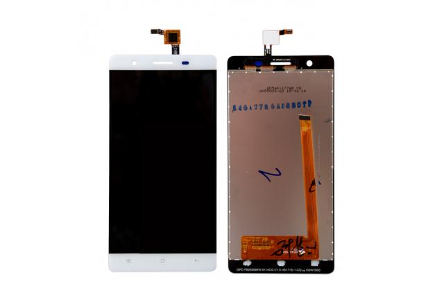 Фирменный LCD-ЖК-сенсорный дисплей-экран-стекло с тачскрином на телефон CUBOT S550 белый