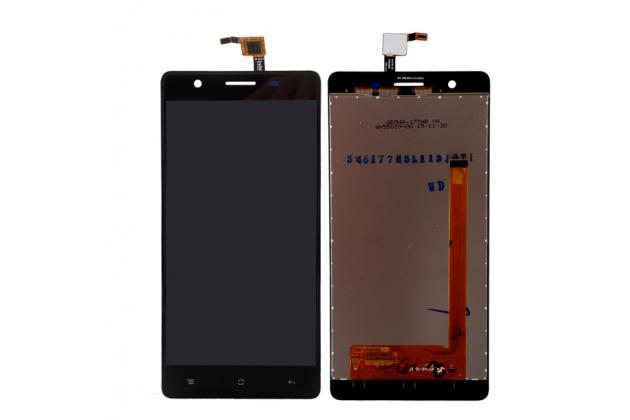 Фирменный LCD-ЖК-сенсорный дисплей-экран-стекло с тачскрином на телефон CUBOT S550 черный