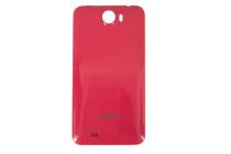 Фирменная задняя панель-крышка-накладка из тончайшего и прочного пластика для Cubot GT99 красная