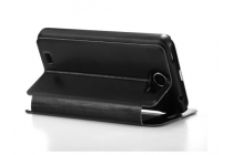 Фирменный оригинальный чехол-книжка для  Cubot GT99 черный с окошком для входящих вызовов водоотталкивающий