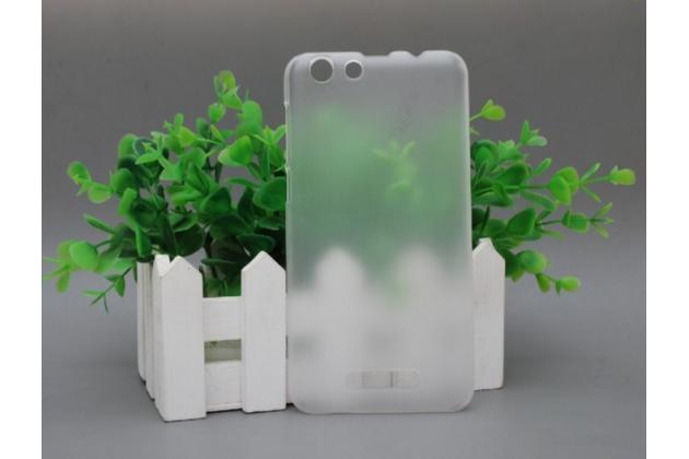 Фирменная задняя панель-крышка-накладка из тончайшего и прочного пластика для Cubot Note S прозрачная