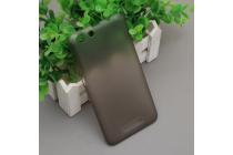 Фирменная задняя панель-крышка-накладка из тончайшего и прочного пластика для Cubot Note S серая