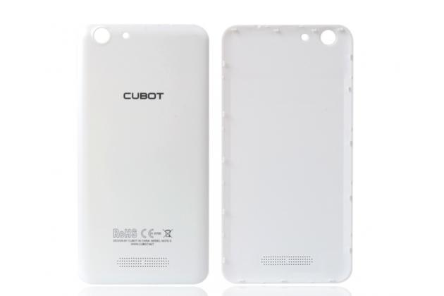 Родная оригинальная задняя крышка-панель которая шла в комплекте для Cubot Note S белая