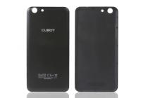 Родная оригинальная задняя крышка-панель которая шла в комплекте для Cubot Note S черная