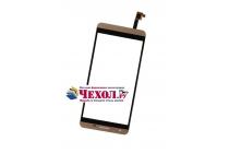Фирменное сенсорное стекло-тачскрин на  Cubot X15 золотой и инструменты для вскрытия + гарантия