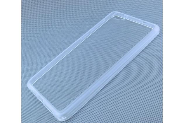 Фирменная ультра-тонкая полимерная из мягкого качественного силикона задняя панель-чехол-накладка для Cubot X15 белая