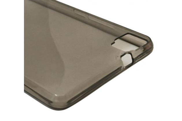 """Фирменная ультра-тонкая полимерная из мягкого качественного силикона задняя панель-чехол-накладка для Cubot X16 / X17 5.0""""  черная"""