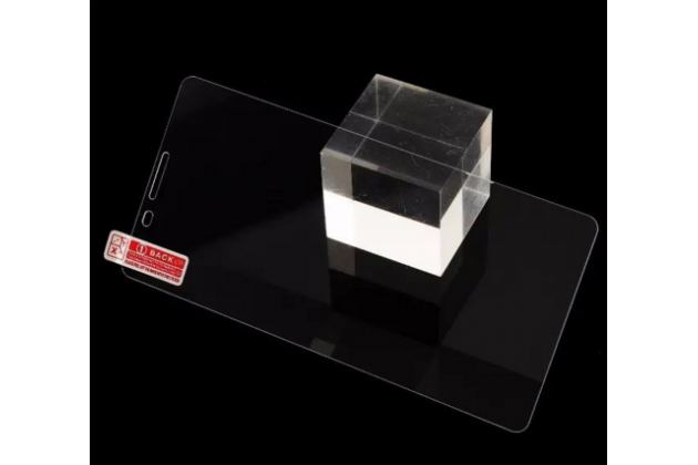 """Фирменное защитное закалённое противоударное стекло премиум-класса из качественного японского материала с олеофобным покрытием для телефона Cubot X16 / X17 5.0"""""""