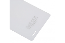 """Родная оригинальная задняя крышка-панель которая шла в комплекте для Cubot X16 / X17 5.0"""" белая"""
