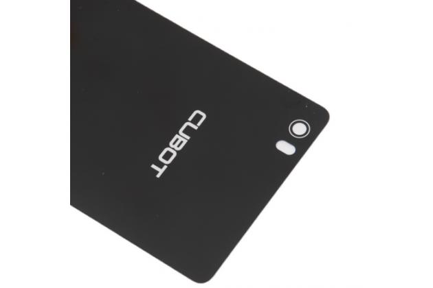 """Родная оригинальная задняя крышка-панель которая шла в комплекте для Cubot X16 / X17 5.0"""" черная"""