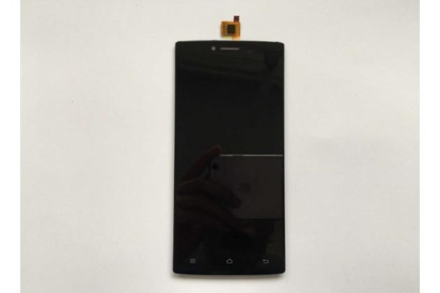 Фирменный LCD-ЖК-сенсорный дисплей-экран-стекло с тачскрином на телефон Cubot S600 черный