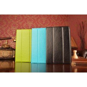 Чехол с вырезом под камеру для планшета IrbisTX54 с дизайном Smart Cover ультратонкий и лёгкий. цвет в ассортименте