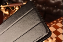Чехол с вырезом под камеру для планшета Prestigio MultiPad PMT3797 3G с дизайном Smart Cover ультратонкий и лёгкий. цвет в ассортименте